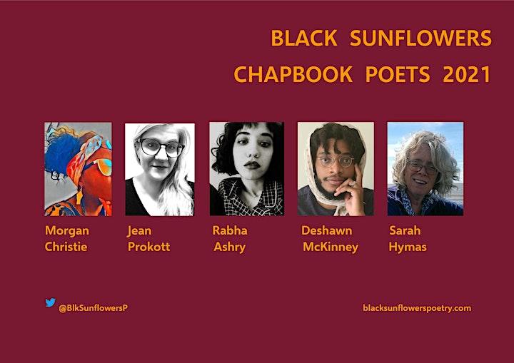 Black Sunflowers Chapbook Poet Readings image