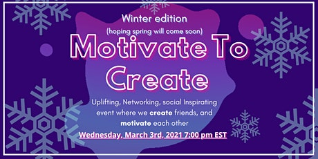 Motivate to Create (March Edition) tickets