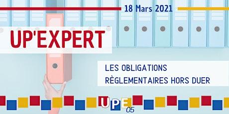 UP'EXPERT | « Les obligations règlementaires hors DUER » billets