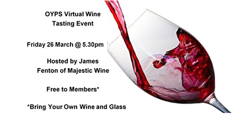 OYPS Virtual Wine Tasting Event tickets