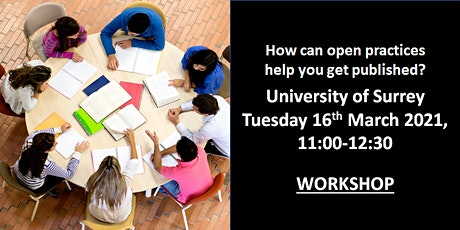 University of Surrey, Wiley, UKRN - Open Research Workshop tickets