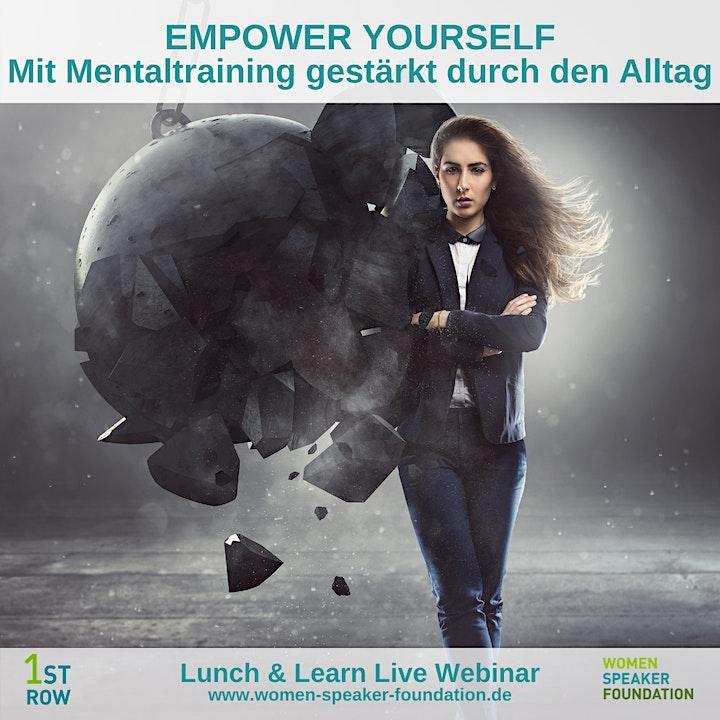 Webinar: EMPOWER YOURSELF - Mit Mentaltraining gestärkt durch den Alltag: Bild