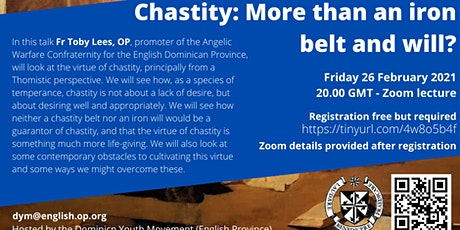 Chastity: More than an iron belt and will? tickets