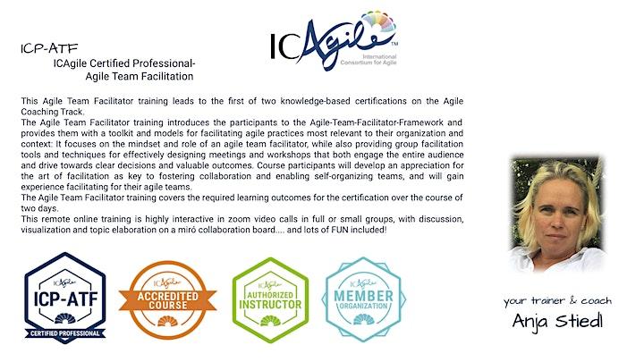 Agile Team Facilitator ICP-ATF by ICAgile -english image