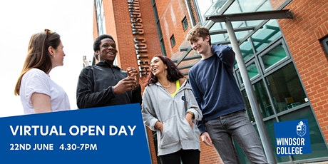 Windsor College Virtual Open Day tickets