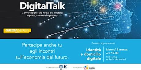 Digital talk: Identità e domicilio digitale per le imprese biglietti