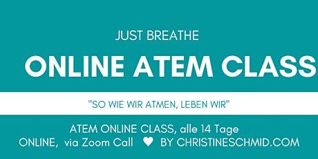 """Offene Atem Class """"Deutschland atmet"""" Tickets"""