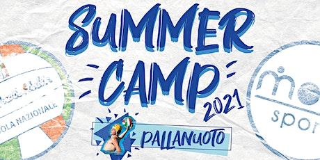 SUMMER CAMP 2021 - Pallanuoto biglietti