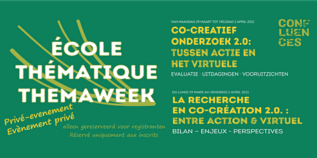 Workshop/Atelier 6 - Groupe1:Recherche actions participatives en distanciel tickets