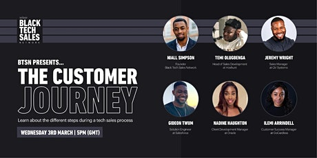 The Customer Journey: Learn all about the tech sales process! tickets
