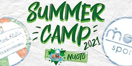 SUMMER CAMP 2021 - Nuoto biglietti