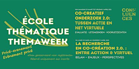 Workshop/Atelier 8 : Recherche innovante/ changement social/ territoire billets