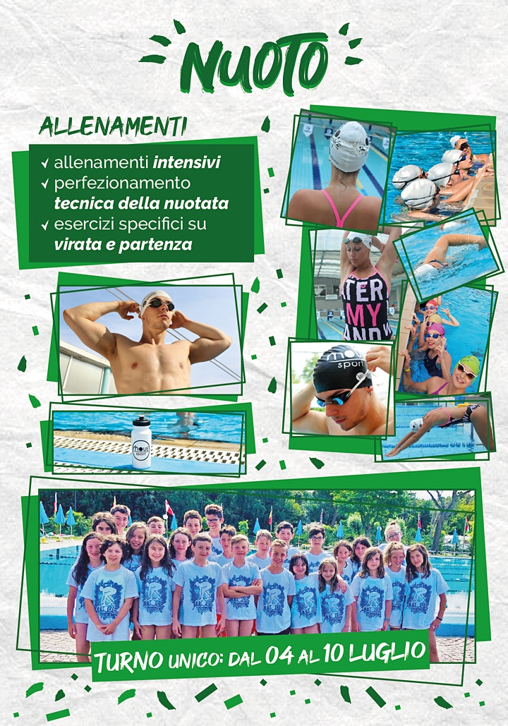 Immagine SUMMER CAMP 2021 - Nuoto