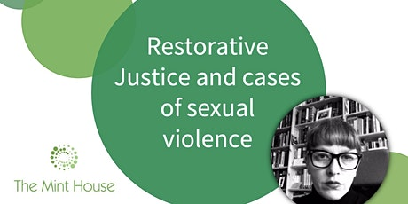 Restorative Justice and cases of sexual violence tickets