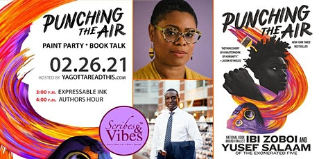 Punching the Air: Paint Party + Book Talk tickets