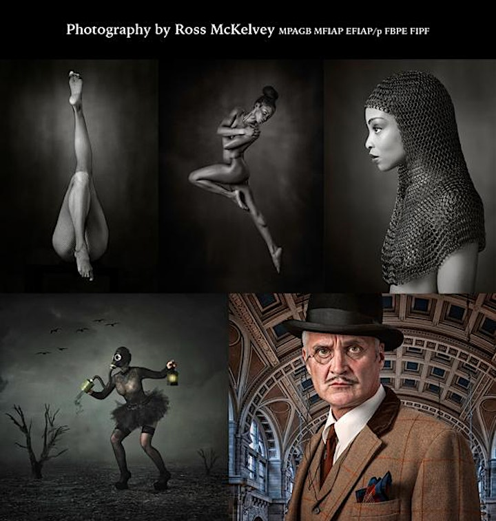 Special Presentation by Ross McKelvey - Studio & Location Model Photography image