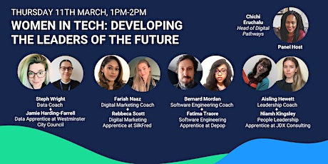 Women in Tech: Developing Leaders of the Future tickets