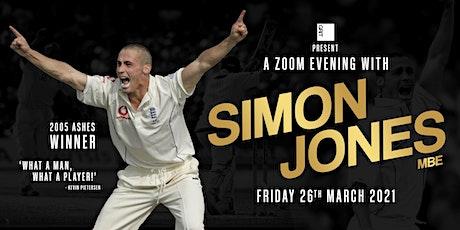 An Evening with Simon Jones MBE tickets
