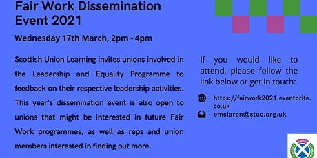 Fair Work Dissemination Event 2021 tickets