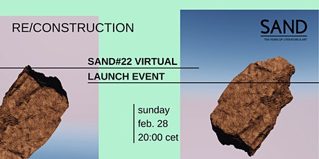 Re/construction: SAND 22 Virtual Launch Event tickets