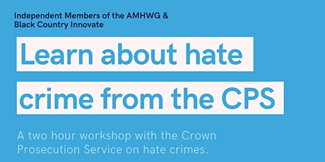 Learn about hate crime from the CPS tickets