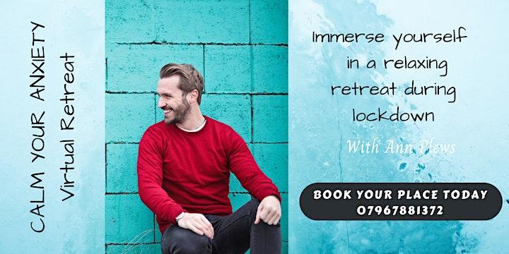 CALM YOUR ANXIETY Virtual Retreat (4 x Saturdays) UK image