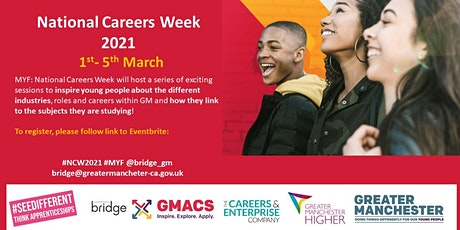 Meet Your Future: National Careers Week GM 2021 tickets