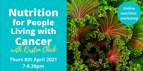 Nutrition for People Living with Cancer tickets