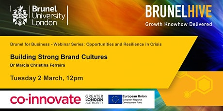 Building Brand Cultures tickets