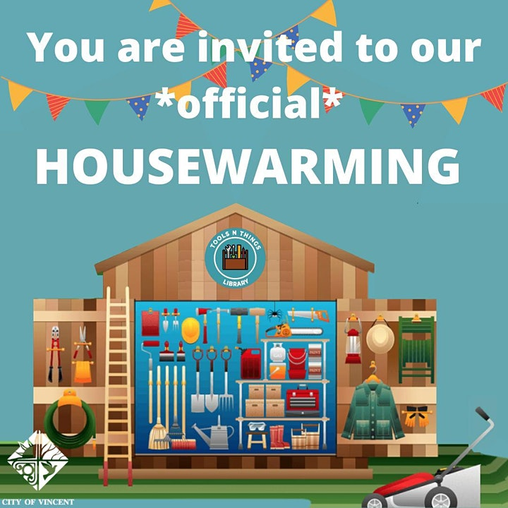 Tools n Things Library - Official Housewarming Event! image
