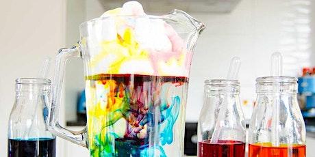 Experimentos de colorantes alimentarios - Recomendado para edades de 4 a 8 entradas