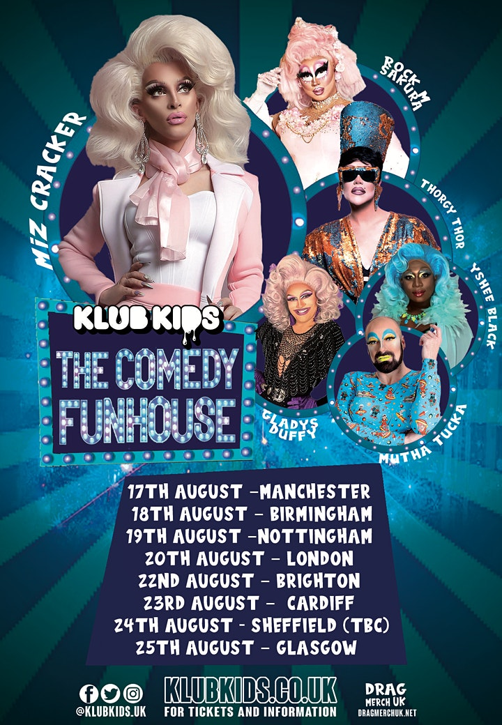 Klub Kids Nottingham presents MIZ CRACKERS COMEDY FUNHOUSE (age 14+) image