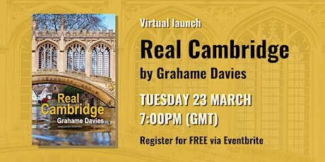 Virtual Launch of Real Cambridge tickets