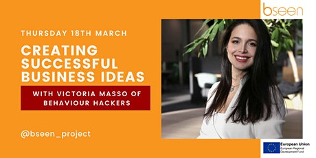 Creating Successful Business Ideas - with Behaviour Hackers tickets