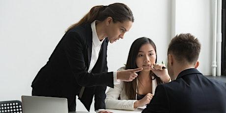 Guías de acoso laboral basada en tres perspectivas boletos
