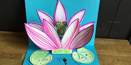 Make a Mother's Day PopUp Pond Life Card with Mazy Bartlett Artist: Age 6 + tickets