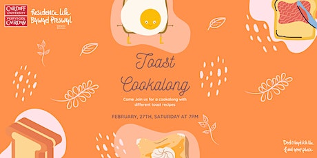 Toast Cookalong tickets