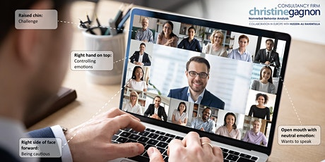 2021 HOW TO DECODE NONVERBAL IN A VIDEOCONFERENCE Level 3  and  level 4 tickets