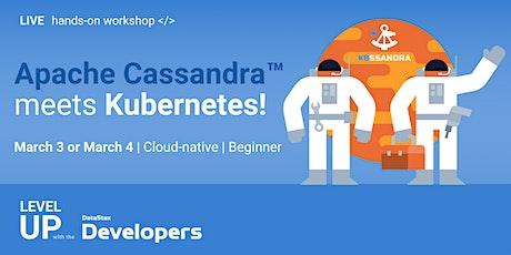 Cloud-Native Workshop:  Apache Cassandra™ meets Kubernetes! tickets