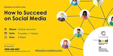 How to Succeed on Social Media  - FREE Business Masterclass tickets