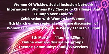 International Womens Day with Women Of Wicklow Social Inclusion Network tickets