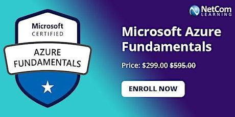 Microsoft Azure Fundamentals (AZ-900T01)1-Day Online Training at $299 boletos