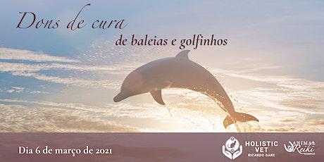 Workshop: Série Sabedoria dos Animais – dons de cura de baleias e golfinhos ingressos