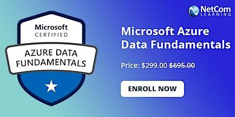 Microsoft Azure Data Fundamentals1-Day Online Training at $299 boletos
