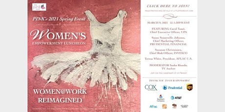 PINK's Spring 2021 Women's Empowerment Event Women @ Work Reimagined tickets