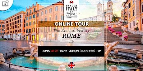 ROME: the eternal beauty tickets