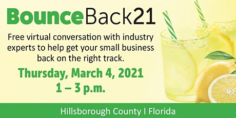 BounceBack21:  Small Business Resilience in the COVID-19 Era tickets