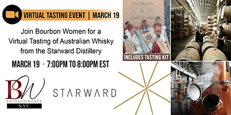 Bourbon Women Virtual Tasting Experience with Starward Distillery tickets