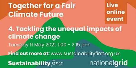How do we tackle the unequal impacts of climate change? tickets