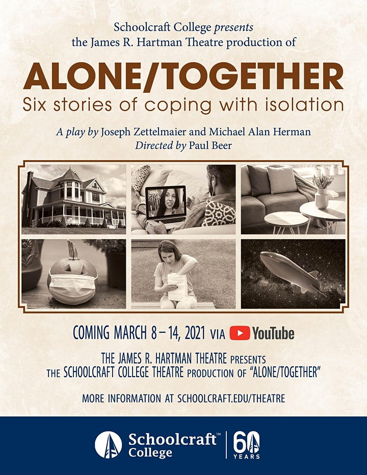 March Theatre Production: Alone/Together (YouTube) image